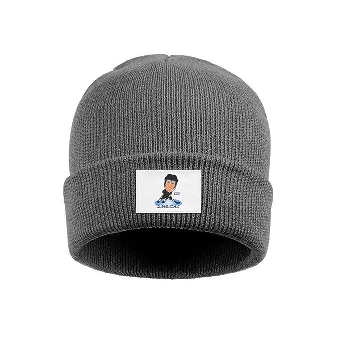Eoyles Ice Hockey Player Slouch Knit Cap Pattern Knitting Beanie Hats 85e9da5d007