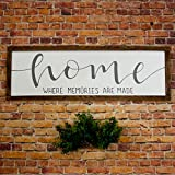 Home sign Rustic home sign Wood home sign Mantle decor Wall decor Living room Wood art Wood signs Wood wall art Rustic wall decor wood sign