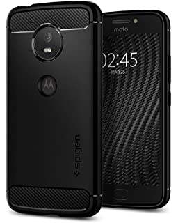 Charmant Spigen Rugged Armor Moto E4 Case With Resilient Shock Absorption And Carbon  Fiber Design For Moto