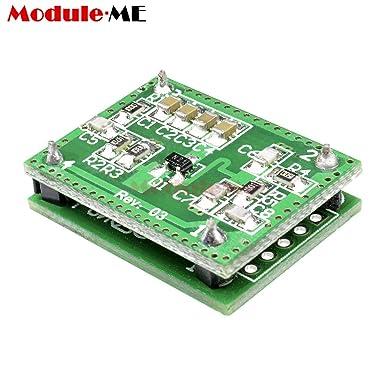 Batcus LV002 10.525GHz 8-15m Doppler Radar Microwave Sensor Switch Module DC6-40V LV002 Sensor Module T8 Two Built-in Installation: Amazon.com: Industrial & ...