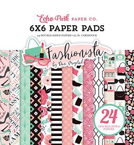 Paper Fashionista - Echo Park Paper Company Fashionista 6x6 Paper Pad