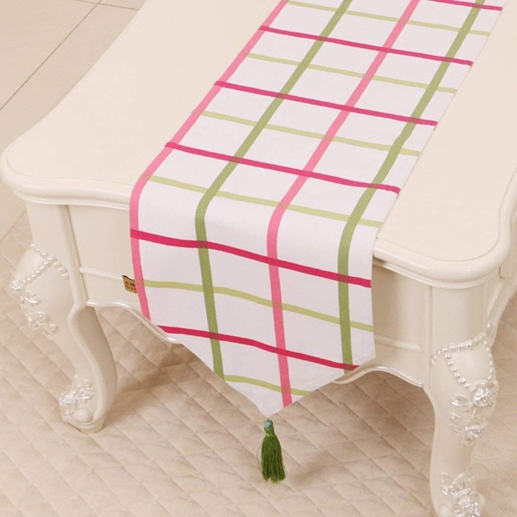 YUJIE Table Runner Cloth Bandera De Mesa, Mantel Rectangular ...
