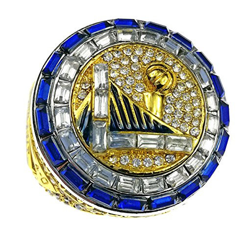 2017 Warrior Curry and Durant Championship Ring for Fans NBA -