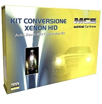 Melchioni 353000023 kit de conversión de xenón H7R HID 12 V 6000 K para moto lámpara: Amazon.es: Coche y moto