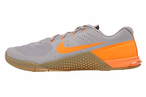 detailed look c8d64 9d8d3 Nike Mens Metcon 2 Synthetic Wolf Grey Bright Citrus Gum Med Brown Trainers  - 9 D(M) US  Buy Online at Low Prices in India - Amazon.in