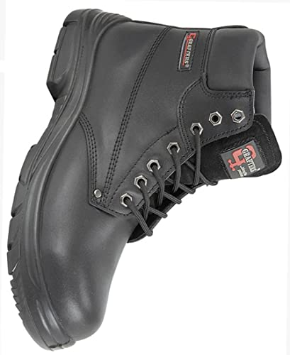 44094346d4f Grafters Extra Extra Wide (4E Fitting) Work Boot with Steel Toe Cap (8  (42))  Amazon.co.uk  Shoes   Bags