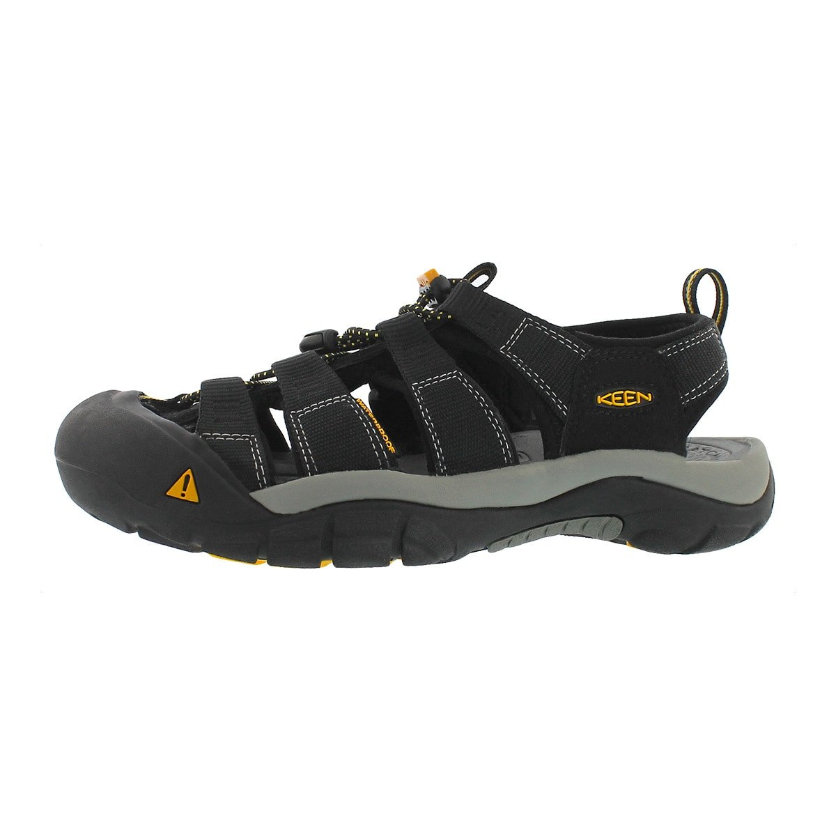 KEEN Men's Newport H2 Sport Sandal Black 10.5 M US by KEEN