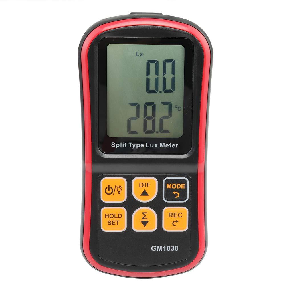GM1030 Digital Lux Meter BT Photometer Luxmeter Split Type LCD Handheld Illuminometer Luminometer Light Meter