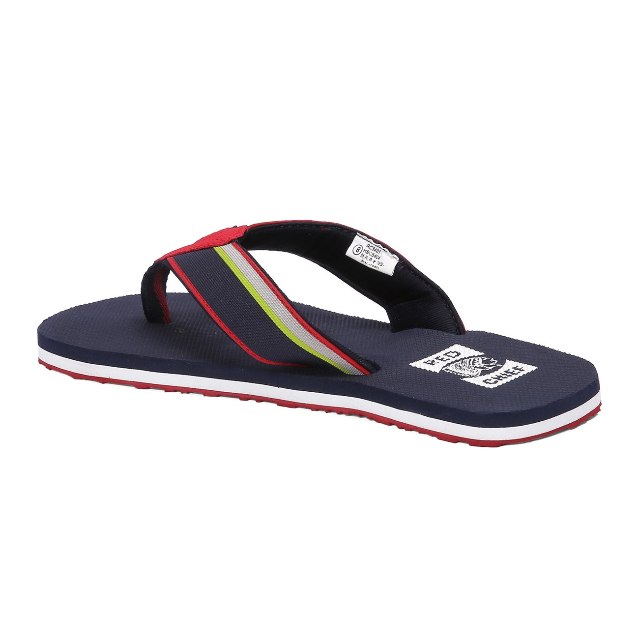 0d0df5d506c2 Red Chief Blue Men s Casual Flip Flop (RC3481 061)  Buy Online at Low  Prices in India - Amazon.in