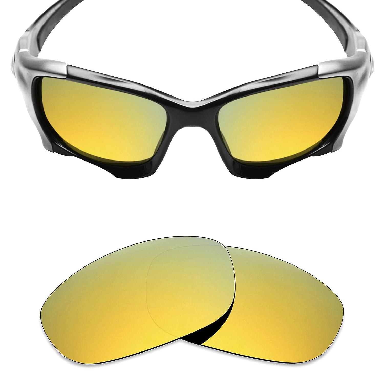 e1725ed803 Amazon.com  Mryok Polarized Replacement Lenses for Oakley Pit Boss 2-24K  Gold  Clothing
