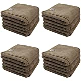 Chemical Guys MIC36212 Workhorse XL Tan Professional Grade Microfiber Towel, Leather & Vinyl (24 in. x 16 in.) (Pack of 12)