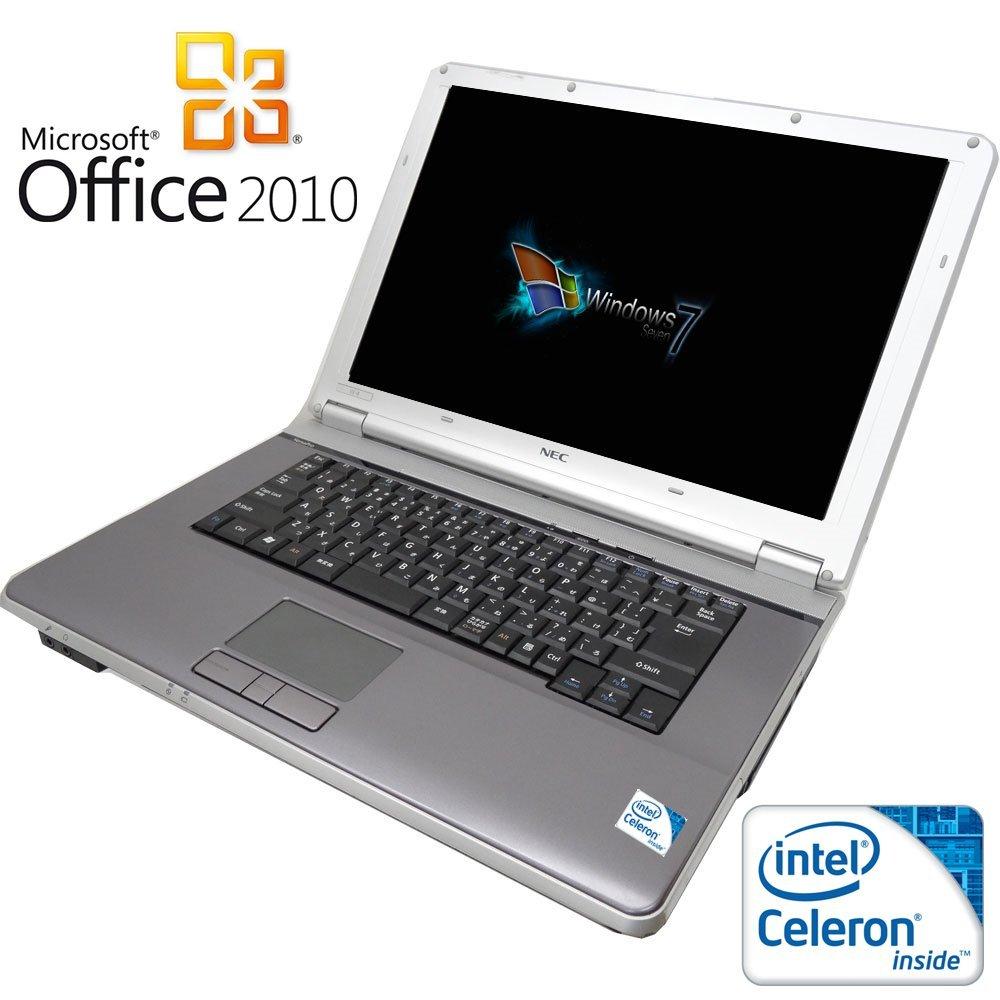 【Microsoft Office 2010搭載】【Win 7搭載】NEC VA-8/新世代Celeron 2.2GHz/メモリ4GB/HDD160GB/大画面15.6インチ/無線LAN搭載/中古ノートパソコン B01G30AFGO