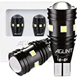 AGLINT T15 T16 LED バックランプ 爆光 高輝度 無極性12V/24V兼用 キャンセラー内蔵 CANBUS 9連3030SMD W16W 921 912 LED バックアップ 6000K ホワイト車検対応 1年保証 2個入り