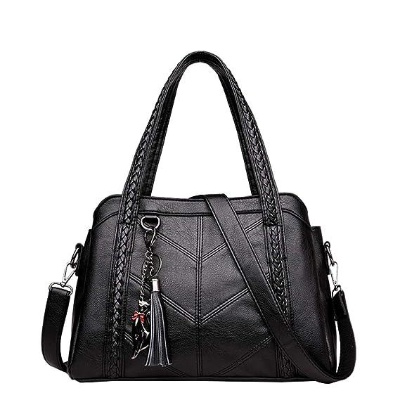 822946cc18dc0 Frauen-Designer-Freizeit-Schulter Mittlere Gealterte Weiche Haut Handtaschen -Dame-Einkaufstasche