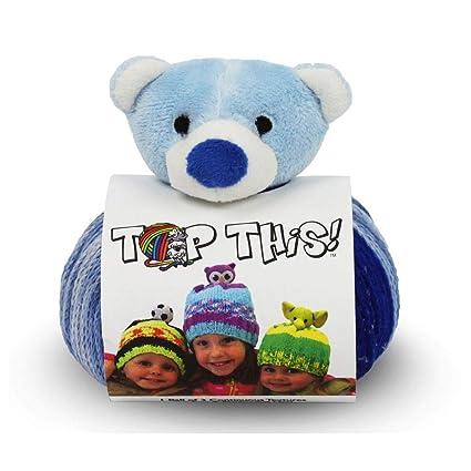 a8913acd5 DMC Top This! Hat Knit Yarn Kit (Teddy Bear)