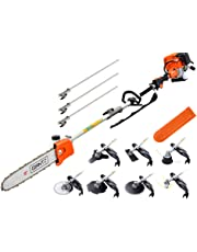 Giantz Cordless Pole Chainsaw with Extension Pole