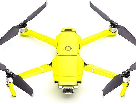 Opinión sobre WRAPGRADE Unidad Principal Skin Compatible con dji Mavic 2 (Neon Yellow)