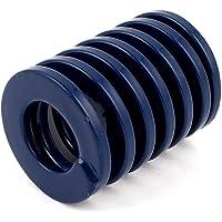 Die DealMux 30mmx30mm Chrom-Legierung Stahl Leichte Lastfeder Blau