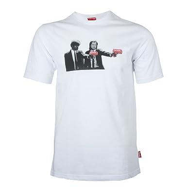 Supreme Spain - Camiseta - Redondo - para Hombre: Amazon.es: Ropa y accesorios