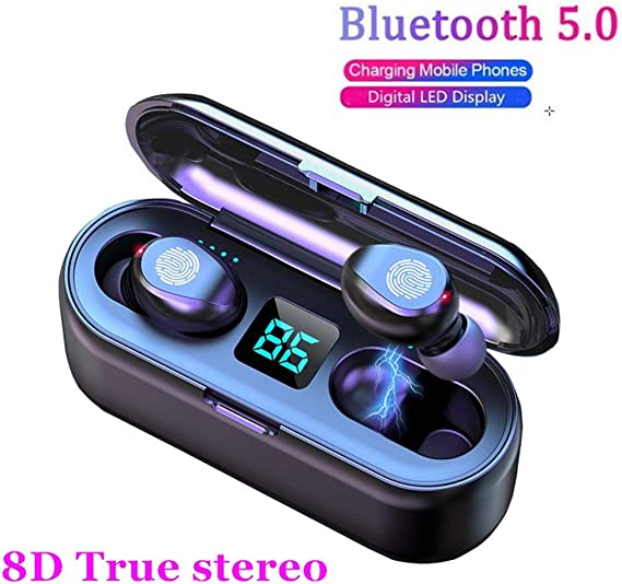 2020 Upgraded Bluetooth Earbuds