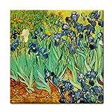 Irises By Vincent Van Gogh Tile Trivet