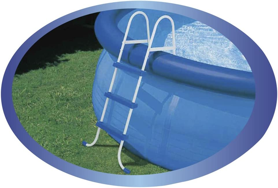 Intex 28061 - Escalera para Piscina (107 cm, Acero Inoxidable ...