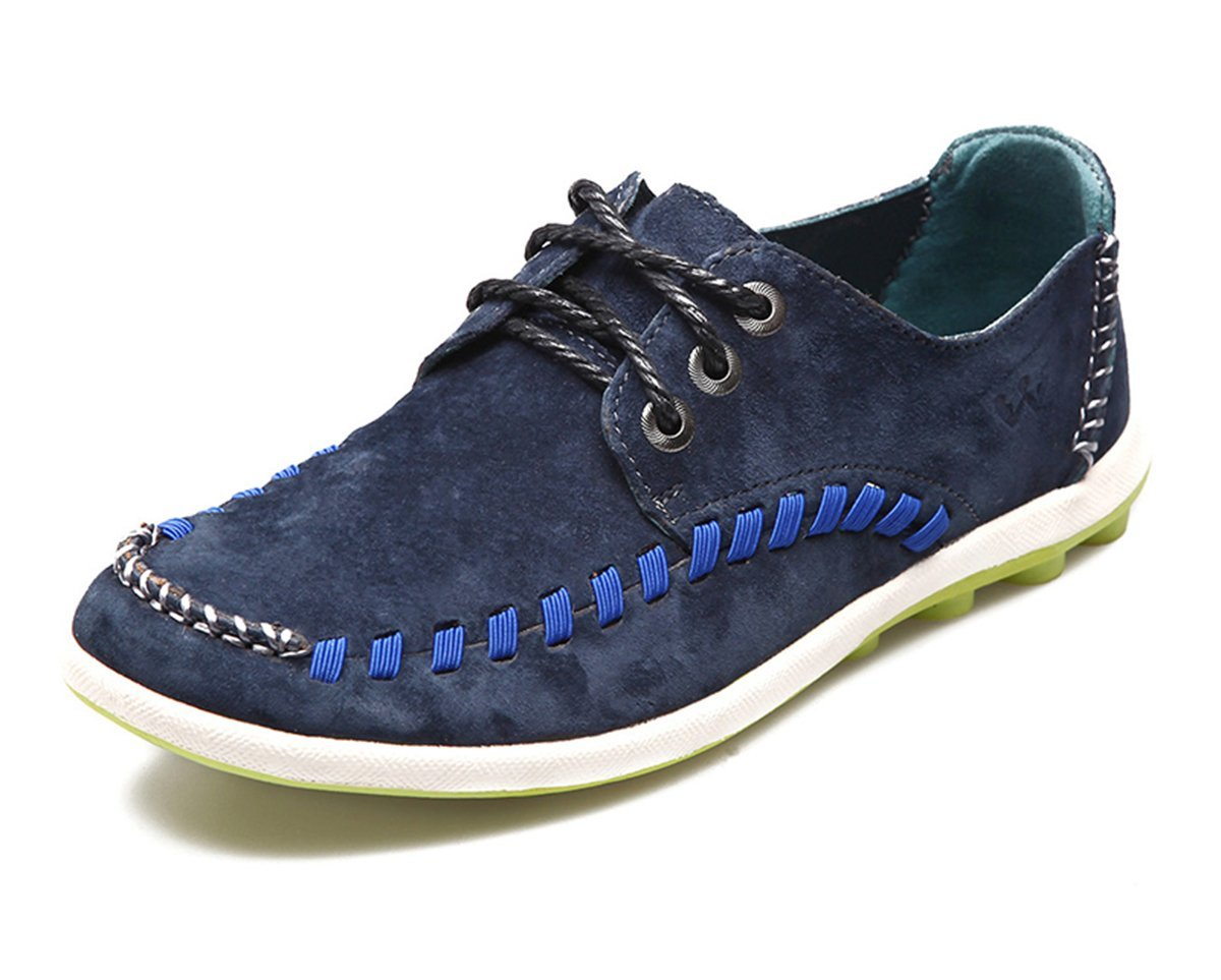 HumgFeng Outdoor Casual Leather Fashion Lace-up Mens Shoes