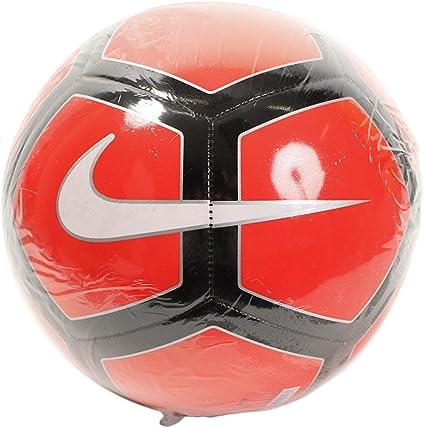 Nike Pitch - Pelotas de fútbol (Negro, Rojo, Específico, 12-Panel ...