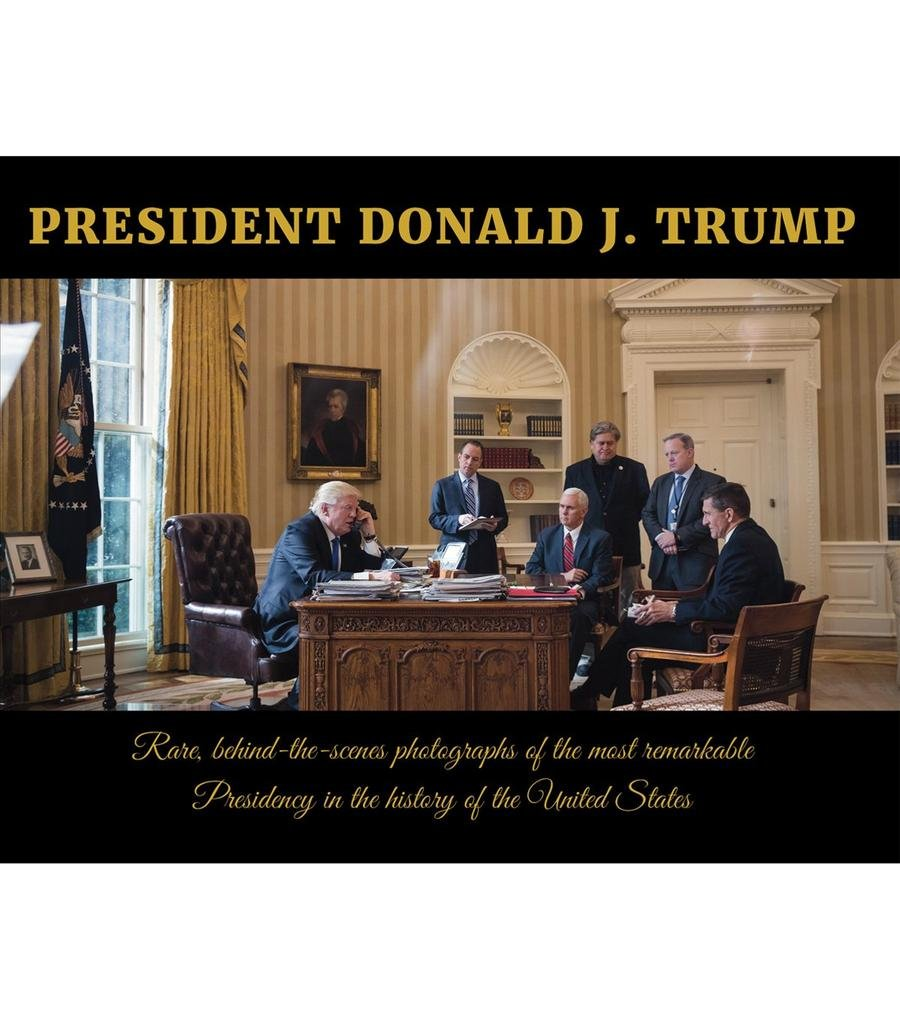 President Donald J Trump Coffee Table Book Frank Unger