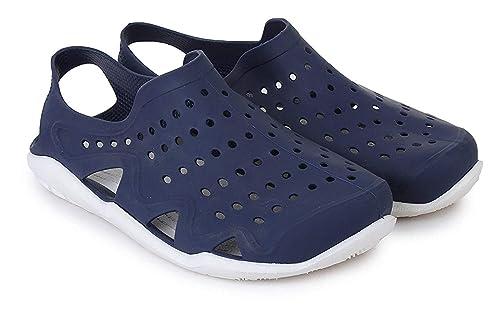 Buy Smart Shoe India Men's Black Clog - 10 at Amazon.in