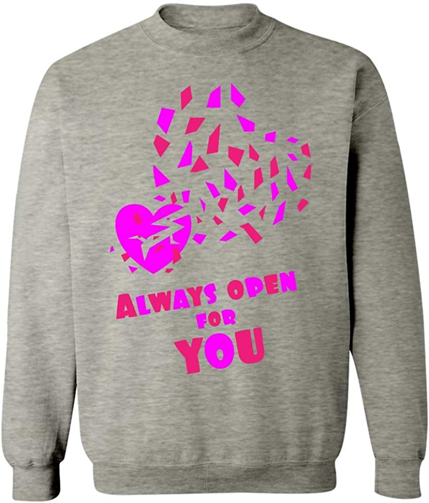 Always Open for You Cool Creative Design Sweatshirt
