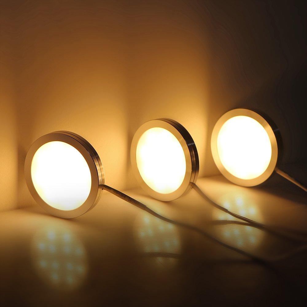 LED unter Kabinett-Licht, Lemonbest unter Gegenbeleuchtung ...