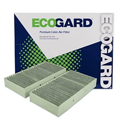 Ecogard XC10009C Premium Cabin Air Filter with Activated Carbon Odor Eliminator Fits Mercedes-Benz ML350 2012-2015, GLE350 2016-2020, GLS450, GL450 2013-2015, GLE43 AMG 2020-2020: Automotive