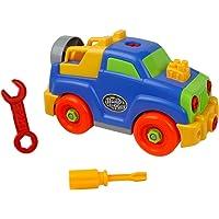 Juguete de herramientas de ingeniería Construyendo Puzzle Jeep