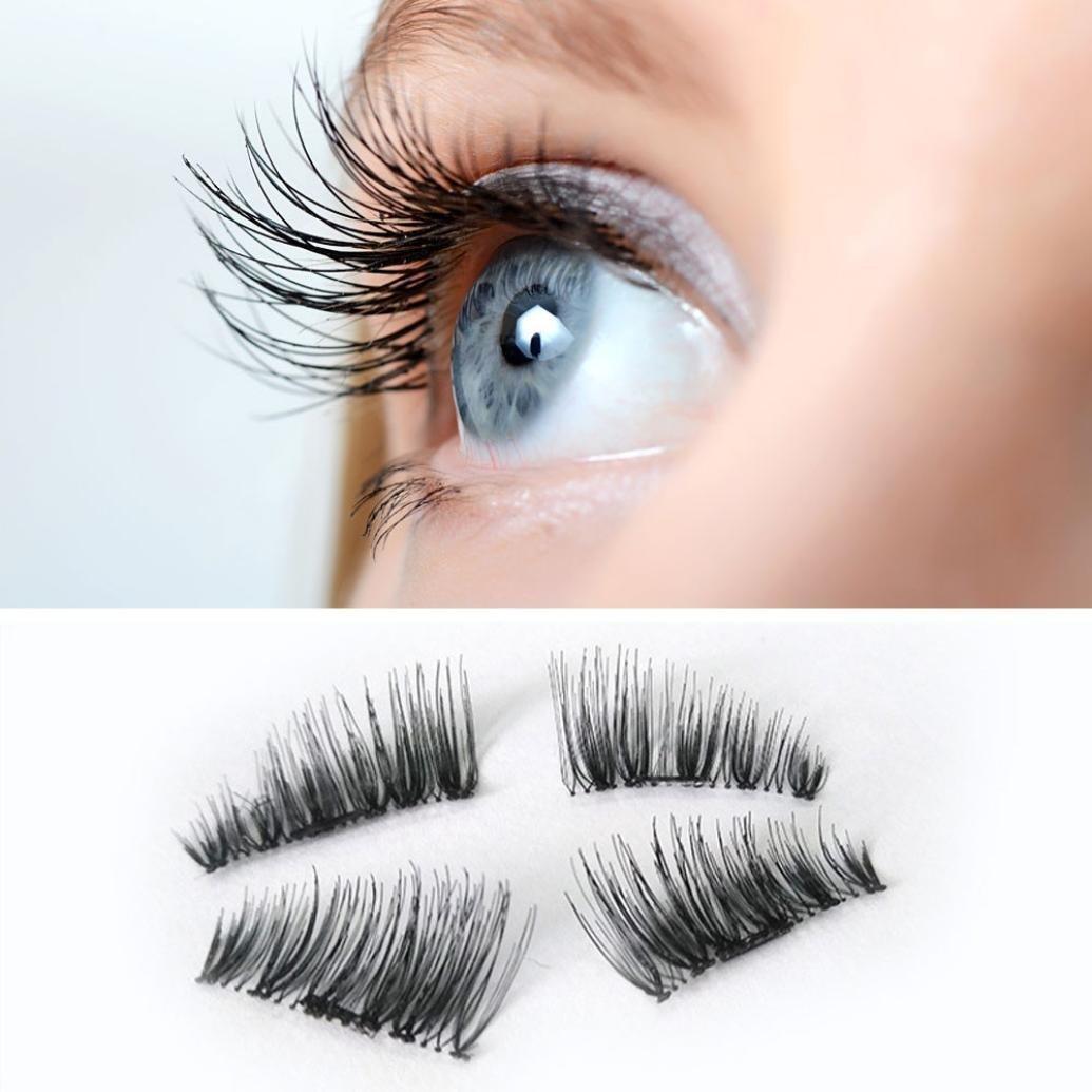how to put on fake eyelashes pieces