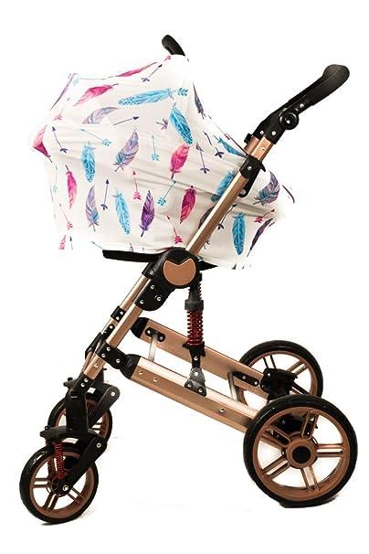 Amazon.com: Premium Baby Car Seat Cover, Nursing Covers ...