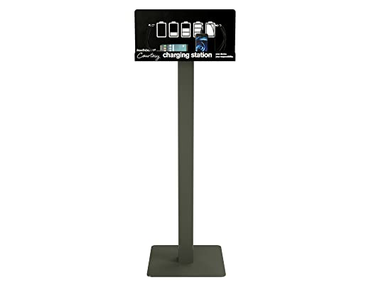 Floor Stand Cell Phone Charging Station Kiosk Tower Dock By KwikBoost |  Multiple Device High Speed