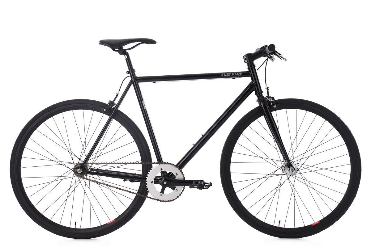 KS Cycling Fixie Fitnessbike 28'' Flip Flop schwarz RH 59 cm Fahrrad KSCA5|#KS Cycling 161R