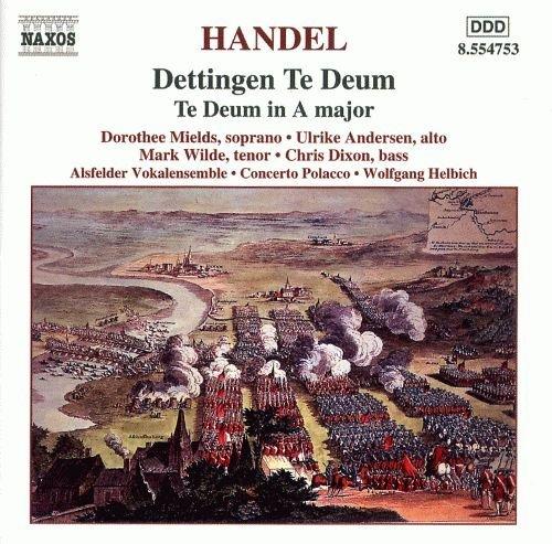 Handel: Dettingen Te Deum by George Frideric Handel (2001-12-01)