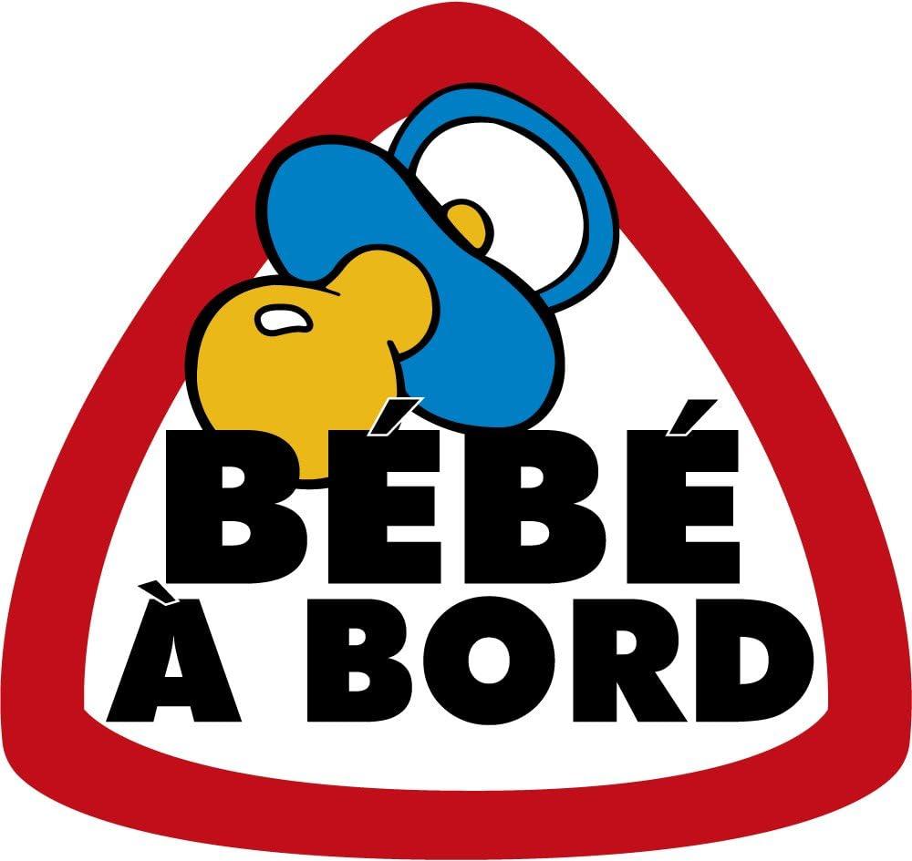 Artimagen Sticker B/éb/é /à Bord Grand Fran/çais 90/x 95/mm