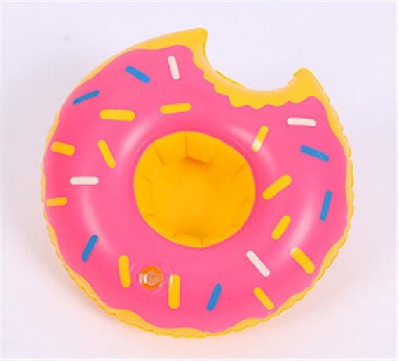Amazon.com: heyuni. Inflable soportes para bebidas, donuts ...