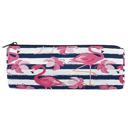 ShineSnow - Estuche para lápices, diseño de flamencos rosas con ...