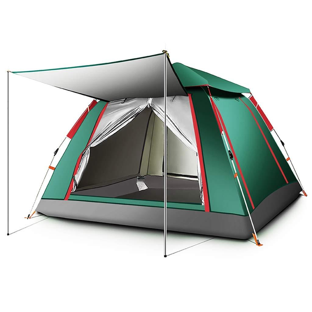 JIE KE Wasserdichte Zelte, tragbares Zelt, vollautomatisches Zelt im Freien 3-4 Personen Familie Camping Feld Freizeit Zelte 215  215  142cm