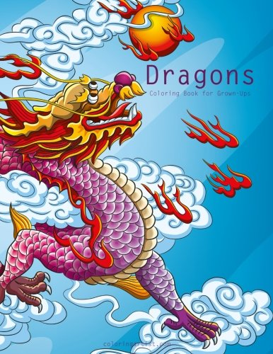Dragons Coloring Book for Grown-Ups 1 (Volume 1)