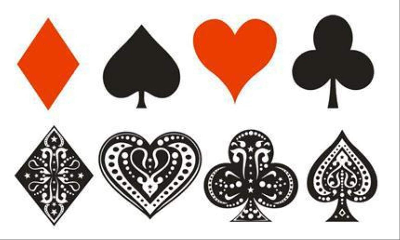 Etiqueta engomada del tatuaje del póker del color del tatuaje ...