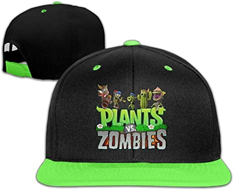 YhsukRuny Kids Plants Vs Zombies Unisex Adjustable Hip Hop ...