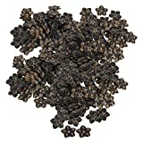 Mxfans 400Piece 23mm Dia Vintage Plum Blossom Stud Pin Decorative Upholstery Nails Tack