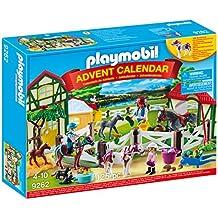 PLAYMOBIL® Advent Calendar-Horse Farm Playset, Multicolor