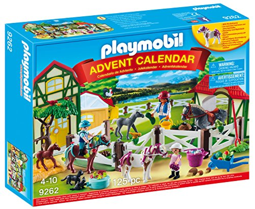 PLAYMOBIL® 9262 Advent Calendar - Horse Farm, Multicolor
