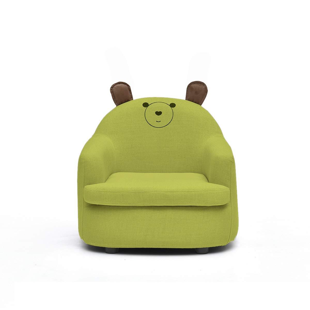 GX&XD Cartoon Bequeme Schaumstoff Kindersofa,Atmungsaktive Komfort Sitzen Lernen Kindersessel Single PU Polstermöbel Kindercouch Für vorschul-Kinder Kindermöbel-C M